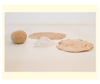 הכנת צ'פטי (פיתה בראיה) בסדנת בישול בריא